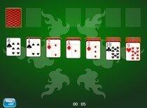 пик играть в карты три