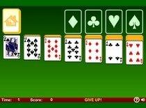 Играть в карты игры пасьянс простой
